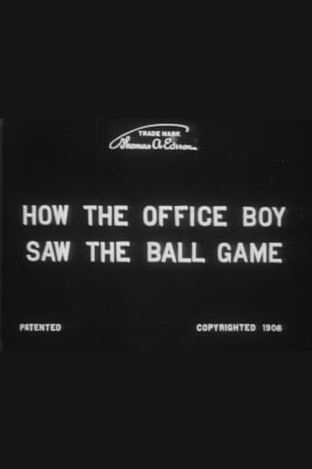 How the Office Boy Saw the Ball Game