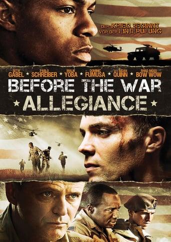 Before the War: Allegiance
