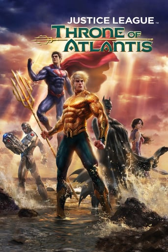 Watch Justice League: Throne of Atlantis