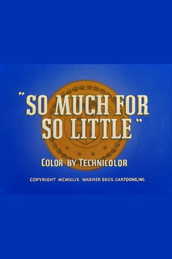 Watch So Much for So Little